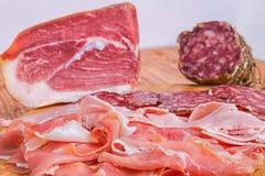 Fijne vleeswaren Stock Foto
