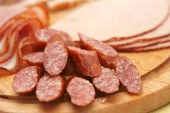 Fijne vleeswaren Stock Afbeeldingen