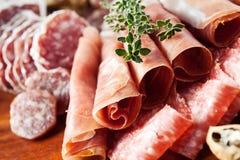 Fijne vleeswaren Stock Fotografie