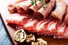 Fijne vleeswaren Royalty-vrije Stock Afbeeldingen