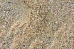 Fijne zand en windtekeningen royalty-vrije stock foto's