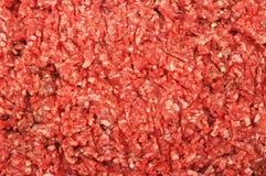 Fijngehakt rundvlees Royalty-vrije Stock Fotografie