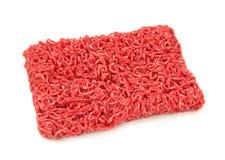 Fijngehakt rundvlees Stock Afbeeldingen