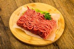 Fijngehakt rundvleesvlees royalty-vrije stock foto