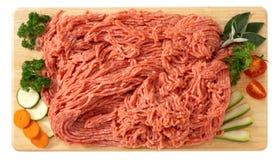 Fijngehakt van kalfsvlees Stock Fotografie