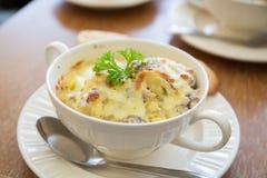 Fijngestampte Aardappel stock foto's