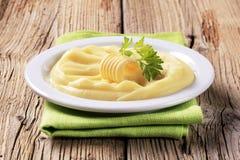 Fijngestampte aardappels Stock Foto