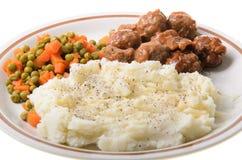 Fijngestampte Aardappels Royalty-vrije Stock Afbeelding