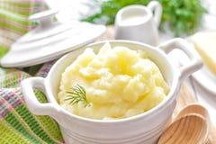 Fijngestampte aardappels Stock Afbeelding