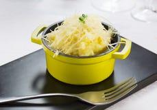 Fijngestampte Aardappels royalty-vrije stock fotografie