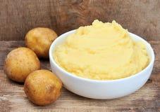 Fijngestampte aardappelsaardappel Royalty-vrije Stock Afbeeldingen