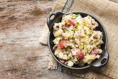 Fijngestampte rode aardappels Royalty-vrije Stock Afbeelding