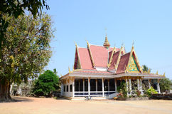 Fikusreligiosa eller sakral fikonträd i Wat Pho Sri Sa-på Arkivbild