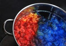 Filé de couleur Images libres de droits