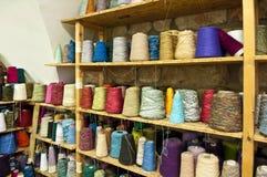 Filé de laines Photo libre de droits