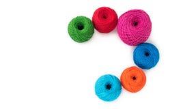 Filé pour le tricotage Photographie stock libre de droits