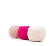 Filé pour le tricotage Images libres de droits