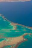Filón coralino. Mar Rojo Fotos de archivo