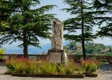 Filósofo do monumet de Stilo em Altomonte Fotografia de Stock Royalty Free