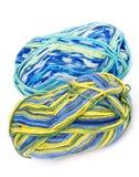Fil à tricoter coloré multi Images libres de droits
