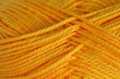 Fil à tricoter de laine Photos libres de droits