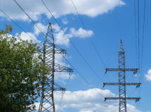 Fil électrique Image libre de droits