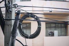 Fil électrique Photo stock