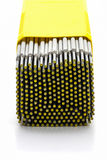 Fil d'électrodes de soudure Images stock