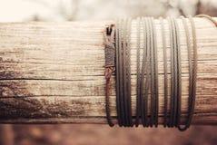 Fil d'acier photos libres de droits