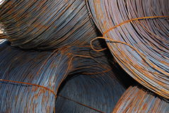 Fil d'acier Images stock