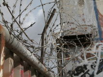 Fil de constantina de mur de Berlin Image libre de droits