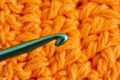 Fil de coton pour le tricotage Photographie stock