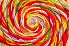 Fil de coton pour le tricotage Photo libre de droits