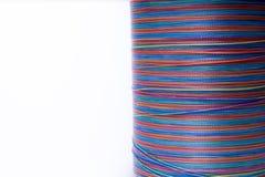 Fil de couleurs d'arc-en-ciel Photographie stock libre de droits