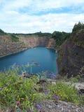 Fil de fermeture éclair de paysage de nature de lac images stock