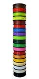 Fil de filament pour l'imprimante 3D Images stock