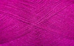 Fil de fond pour le tricotage Modèle de tricotage de laine colorée de fil Image stock