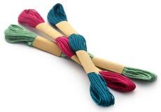 Fil de laine Photographie stock