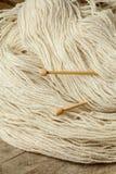 Fil de laine Images stock