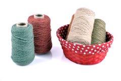 Fil de laine Photos libres de droits