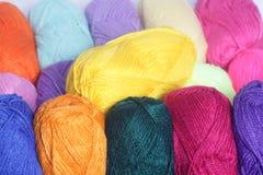 Fil de laine Image libre de droits