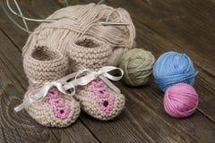 Fil de laine Photos stock