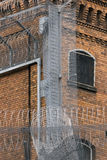 fil de rasoir de prison Image stock