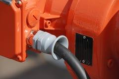Fil de sortie de cable électrique Photographie stock libre de droits