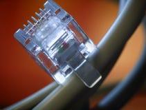 fil de téléphone Image libre de droits