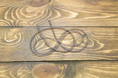 Fil en spirale Photo libre de droits