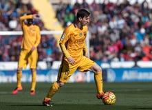 FIL LEVANTE BARCELONA. Leo Messi of FC Barcelona during the La Liga match at Estadi Ciutat de Valencia, Valencia, Spain Stock Photo