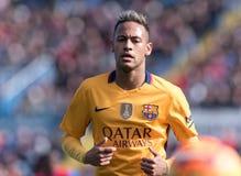 FIL LEVANTE BARCELONA. Neymar of FC Barcelona during the La Liga match at Estadi Ciutat de Valencia, Valencia, Spainrn Royalty Free Stock Image