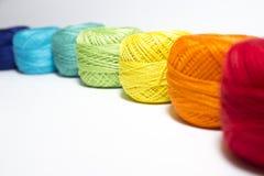 Fil multicolore Photographie stock