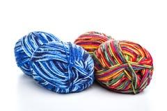 Fil pour le tricotage Images stock
